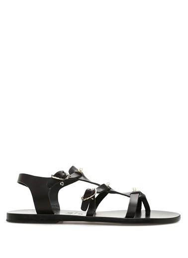 Ancient Greek Sandals Sandalet Siyah